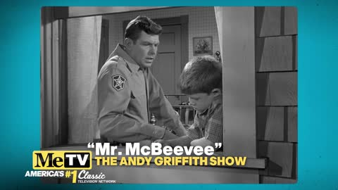 A touching moment between Andy and Opie in ''Mr. McBeevee''